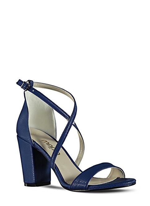 Marjin  Topuklu Ayakkabı Saks